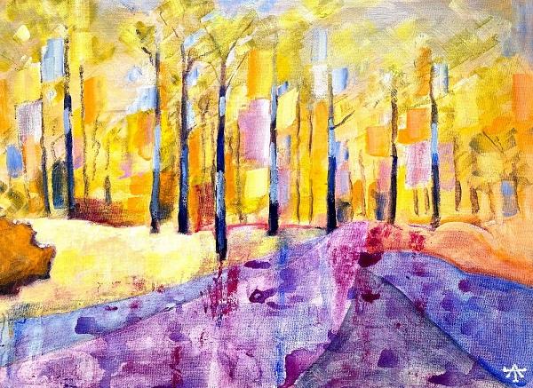 Alan Townsend, Bright Woodland